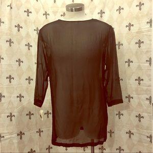Gillian Silk tunic NWT